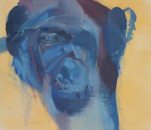 Portrait. Acryl auf Leinwand. 90x105cm. 2017. 585€